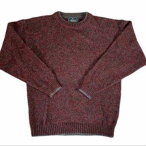 Vintage Woolrich Marled Wool Sweater